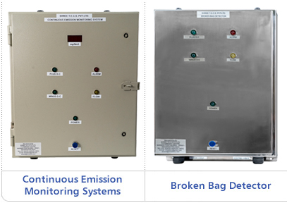 continuous emissions monitoring systems, broken bag detectors
